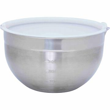 Chef's Secret 5qt Stainless Steel Mixing Bowl with Lid