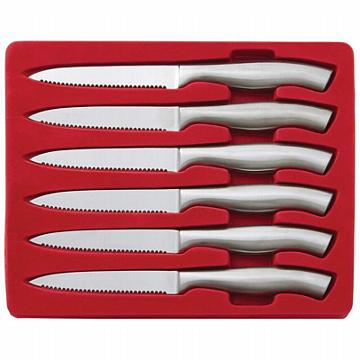 Slitzer Germany 6pc Stainless Steel Steak Knife Set