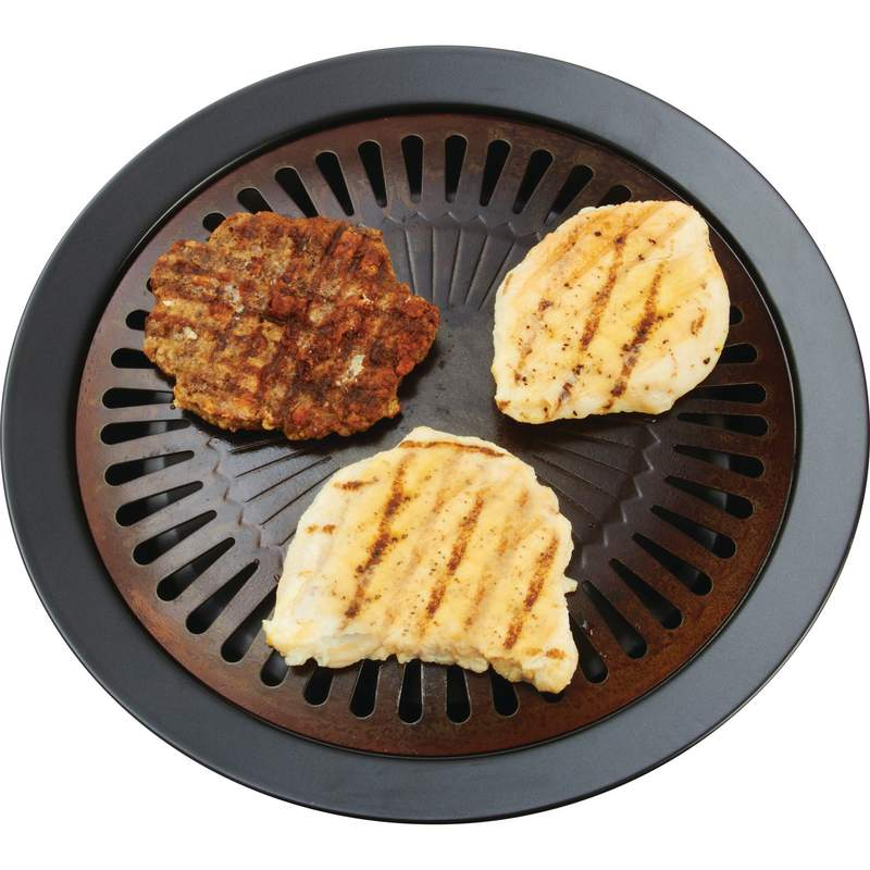 Cast Iron Skillet Brand Smokeless Indoor Grill