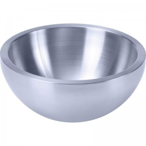 "Chef's Secret® 9-1/2"" Double-Walled Stainless Steel Salad Bowl"