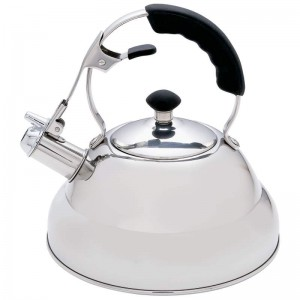 Chef's Secret 2.75qt Surgical Stainless Steel Tea Kettle with Copper Capsule Bottom