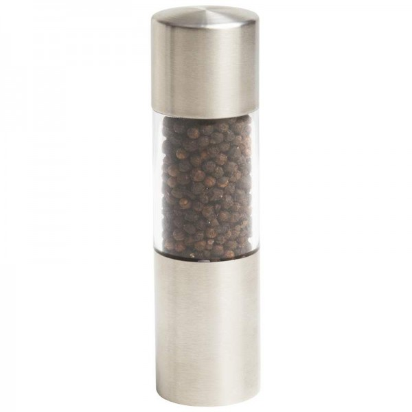 Chef's Secret Stainless Steel Pepper or Salt Grinder