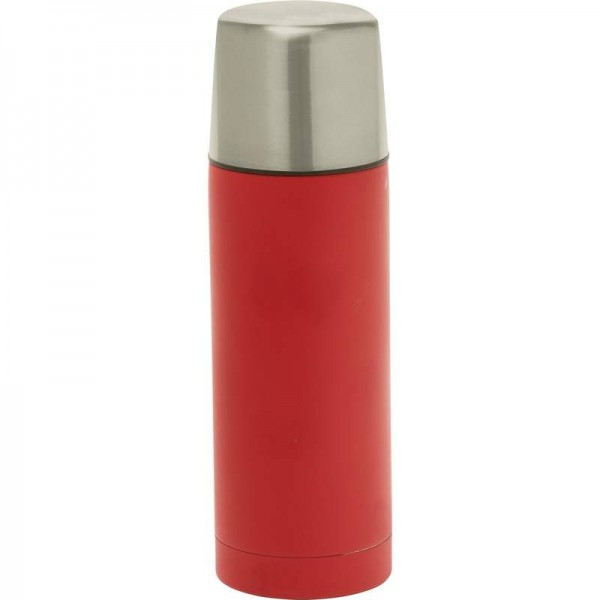 "Classic Safari"" 16oz Stainless Steel Vacuum Bottle"