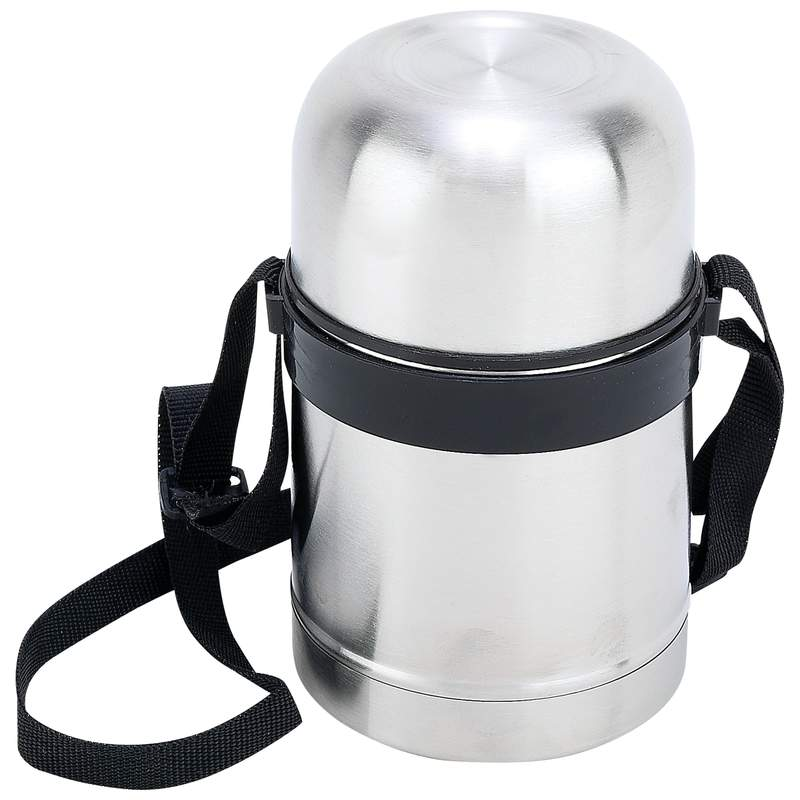 Maxam 0.5 Liter Stainless Steel Vacuum Soup Container