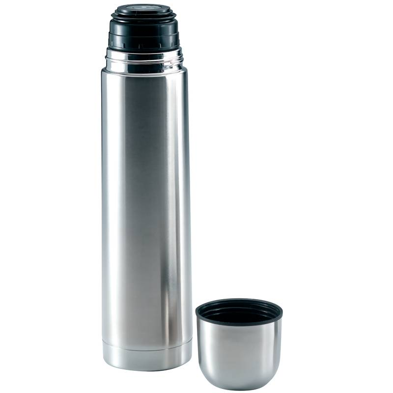 "Maxam 13"" - 1qt Stainless Steel Vacuum Bottle"
