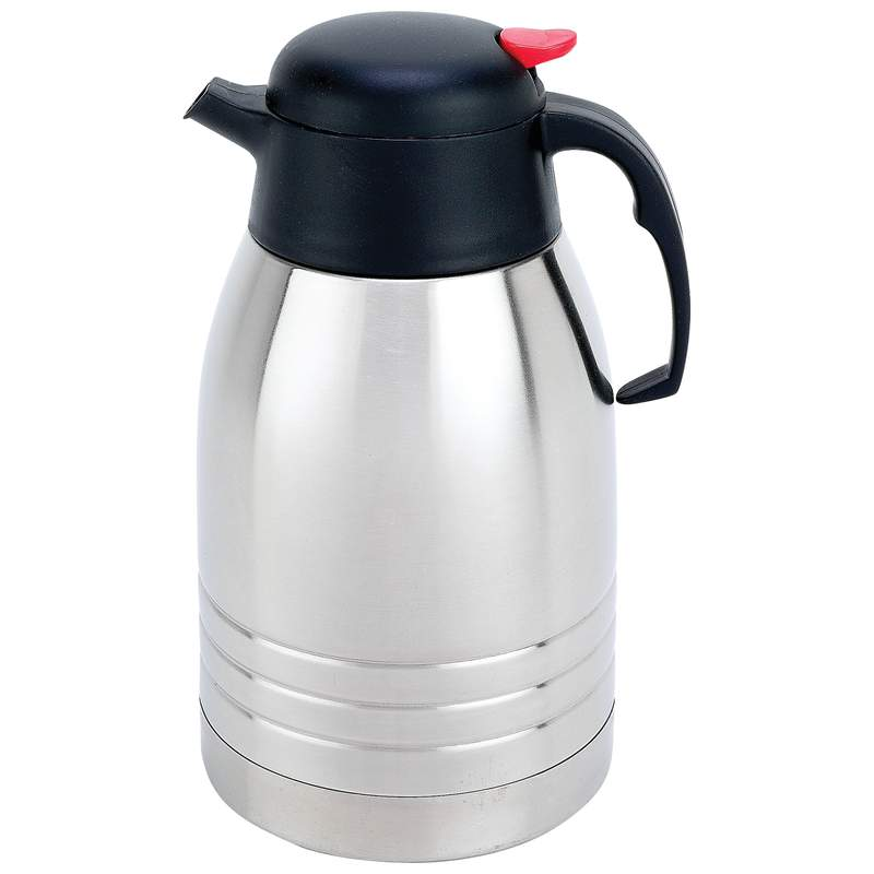 Maxam 2qt Stainless Steel Vacuum Coffee Pot