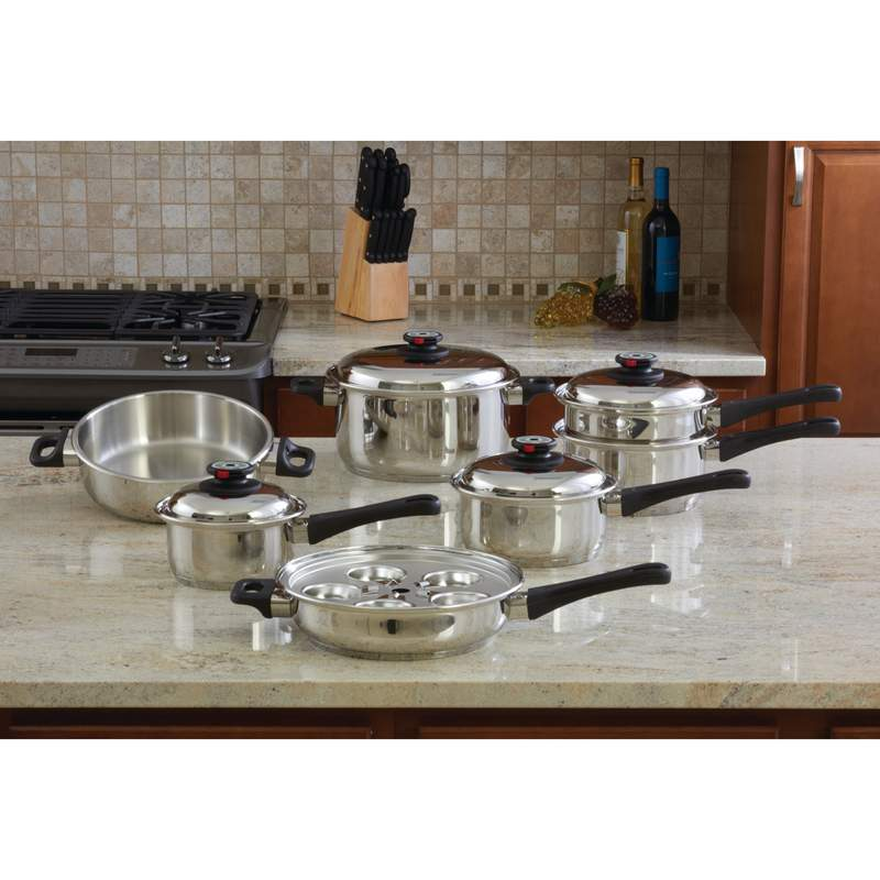 Maxam 9-Element Cookware