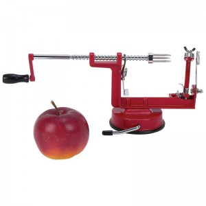 Maxam Apple Peeler/Corer/Slicer with Suction Base