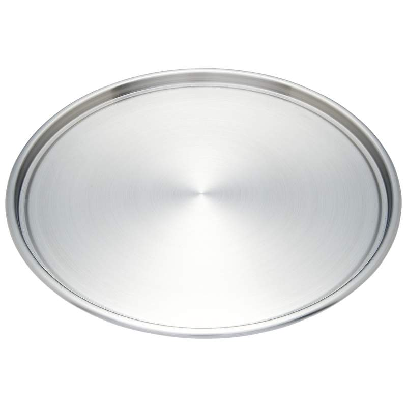 Maxam Stainless Steel Pizza Pan