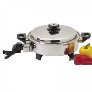 Precise Heat 3.5qt T304 Stainless Steel Oil Core Skillet