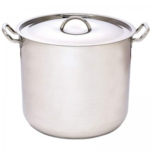 Precise Heat 65qt 12-Element T304 Stainless Steel Stockpot