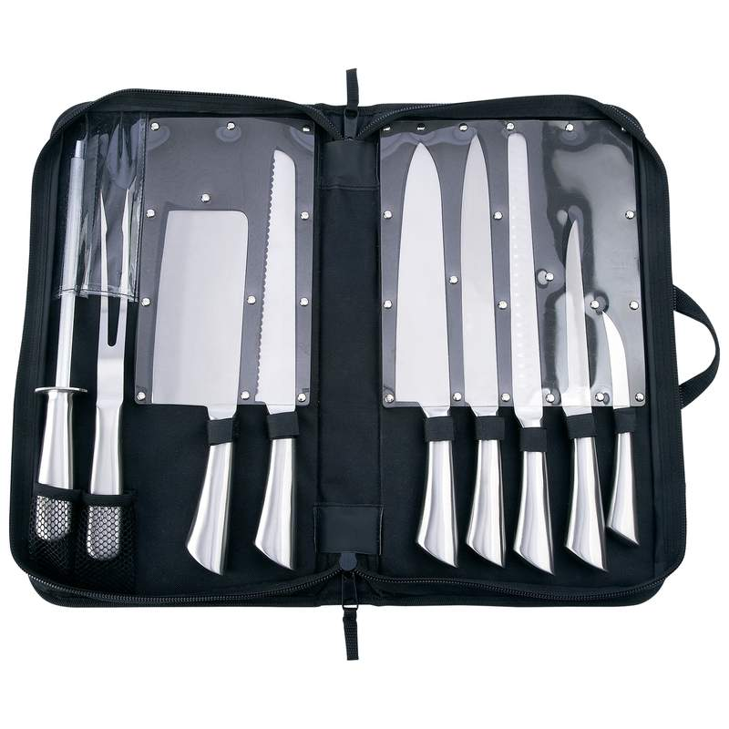 Slitzer 10pc Professional Surgical Stainless Steel Cutlery Set