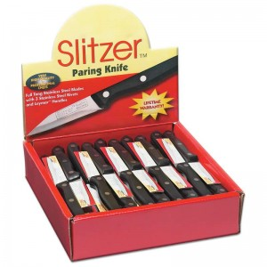 Slitzer 60pc Paring Knives in Countertop Display